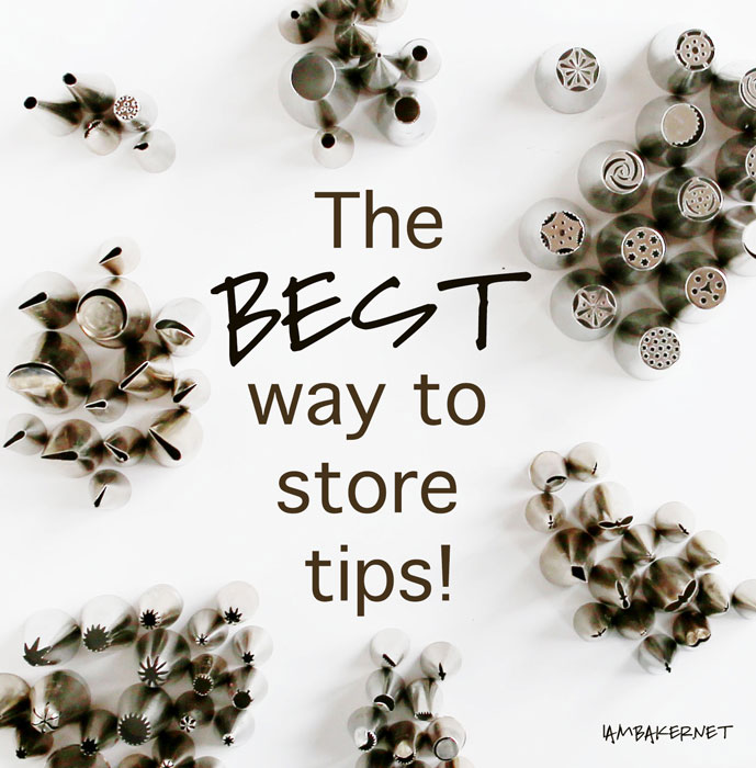 the best way to store tips