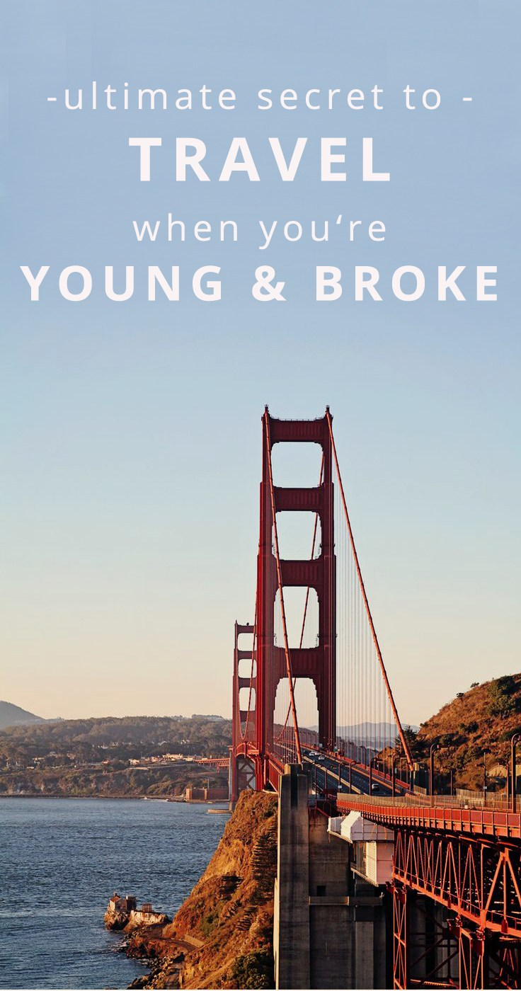 travel young and broke