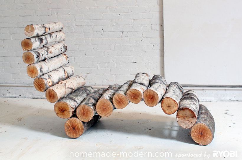 vip log lounger