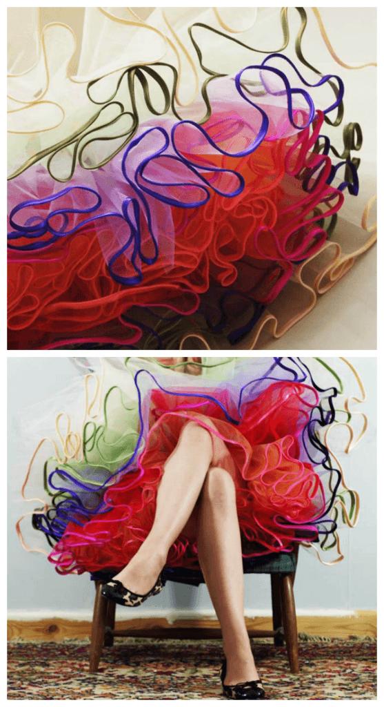 DIY tulle petticoat