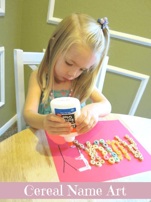 Cereal name art