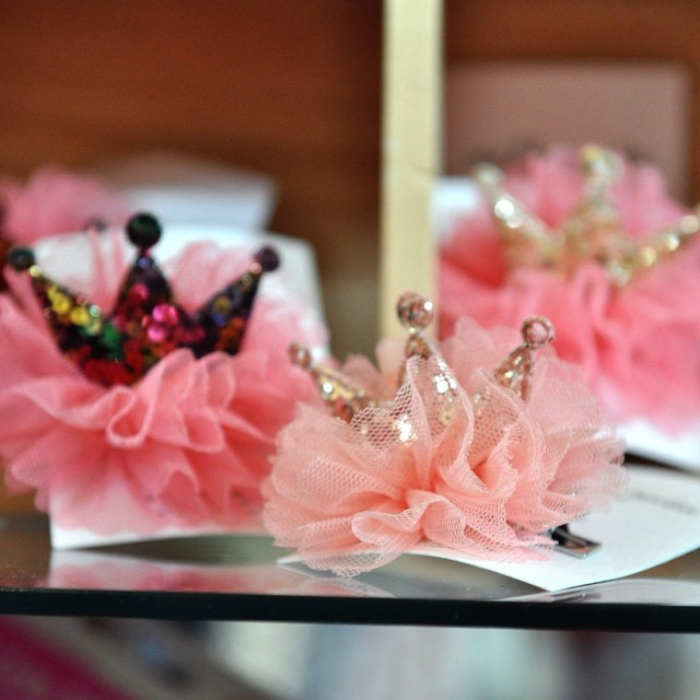 DIY tulle and sequin crowns