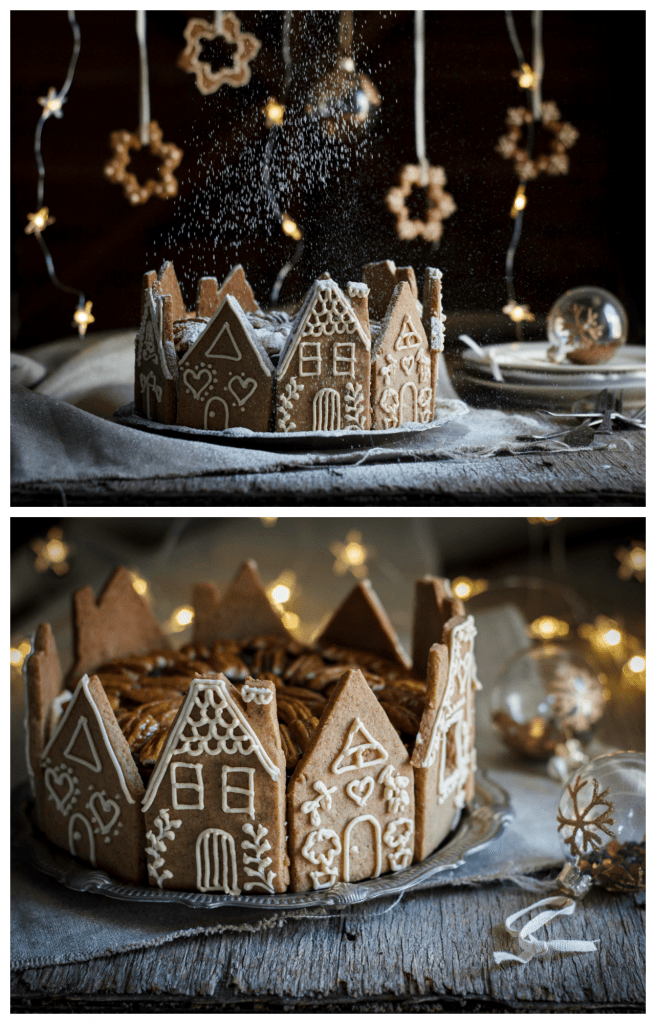 Gingerbread house cake recipe