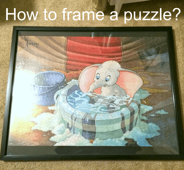 How to frame a puzzle?