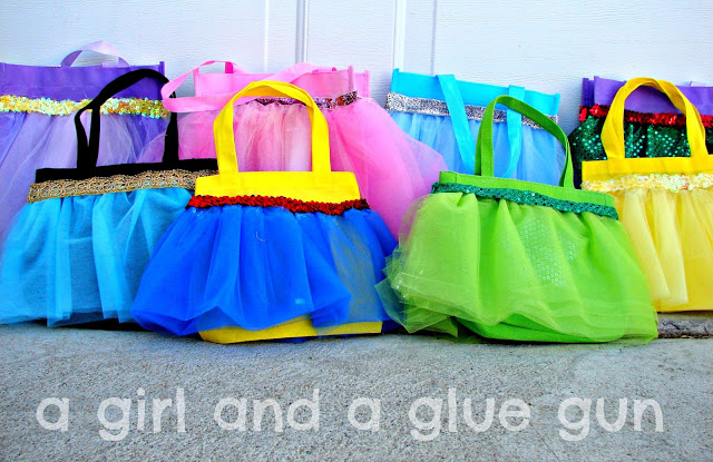 Tulle princess handbags
