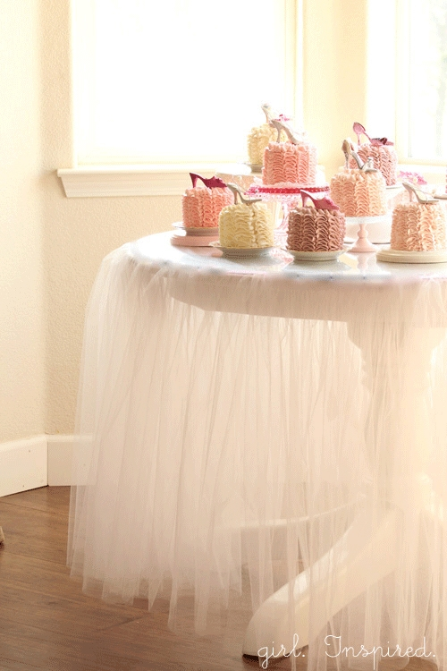 Tutu tablecloth