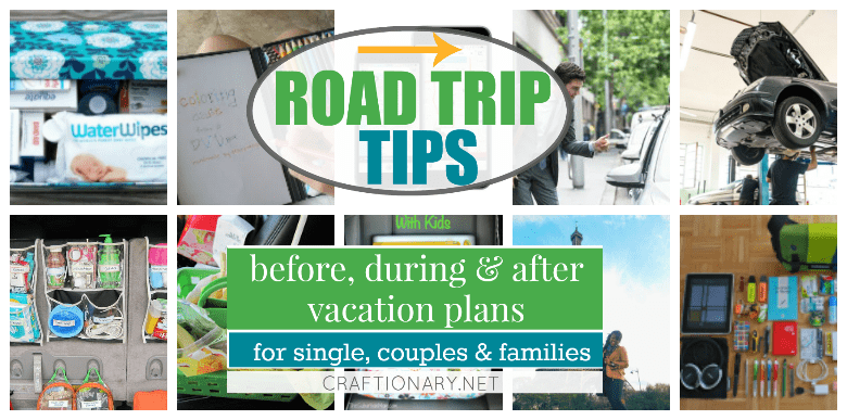 Road trip tips, tricks and hacks for planning an organized vacation #traveling #vacation