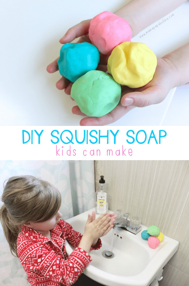 DIY soap kids can make with tutorial