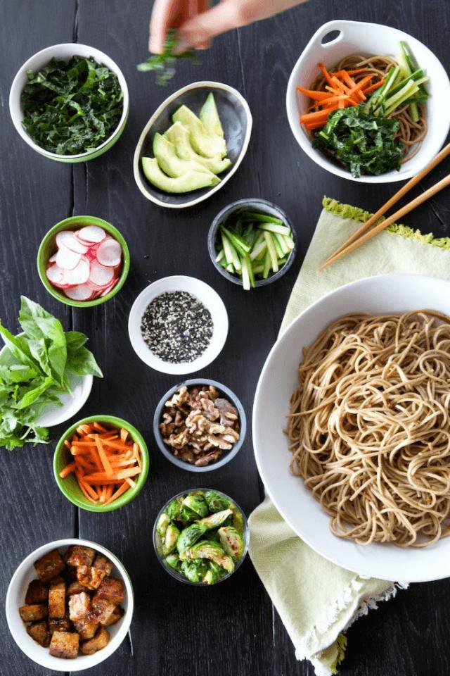 Build your own noodles bar