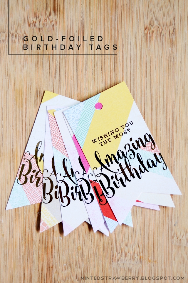 image regarding Birthday Tag Printable referred to as Craftionary