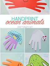 HANDPRINT-OCEAN-ANIMALS-PAPER-ANIMAL-CRAFT-SEA-ANIMALS